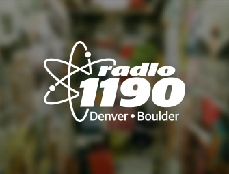 Screenshot of the mother & son self-publishing team of C.B. Hoffmann and Dan Hoffmann on Radio 1190 at Colorado University at Boulder