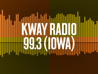 Screenshot of the mother/son self-publishing team of C.B. Hoffmann and Dan Hoffmann on KWAY-AM Radio with Matt Ray in Waverly, Iowa