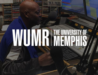 Screenshot of the mother & son self-publishing team of C.B. Hoffmann & Dan Hoffmann on WUMR U92FM University of Memphis Tennessee with Malvin Massey