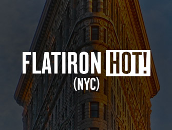 Screenshot of the mother & son self-publishing team of C.B. Hoffmann & Dan Hoffmann on Flatiron Hot in NYC